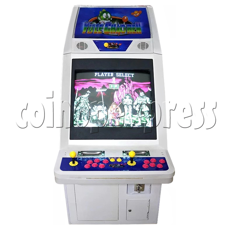 Classic Street Fighter 25 inch CRT Arcade Cabinet-front view