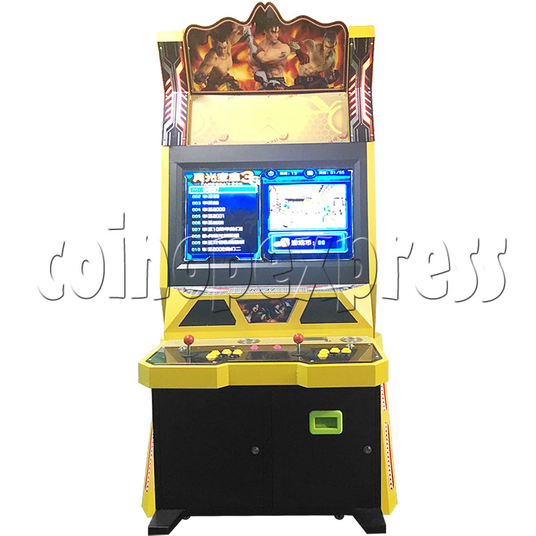 Golden War 32 inch Arcade Cabinet - front view