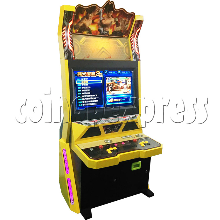 Golden War 32 inch Arcade Cabinet - left view