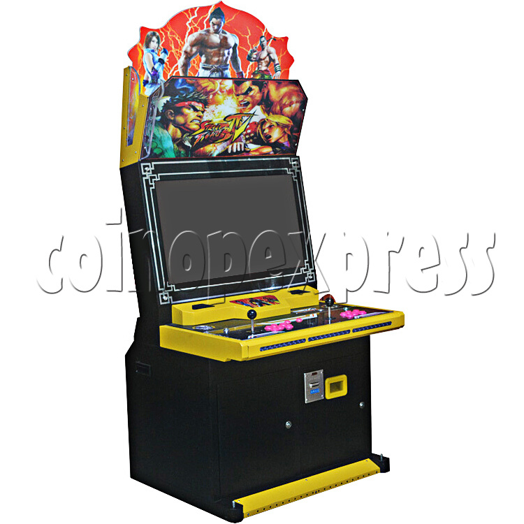 Great Mars 32 inch Arcade Cabinet - left view