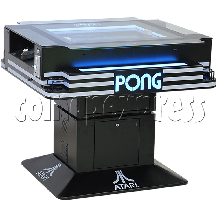 Atari PONG Cocktail Table Machine 2 Player - angle view