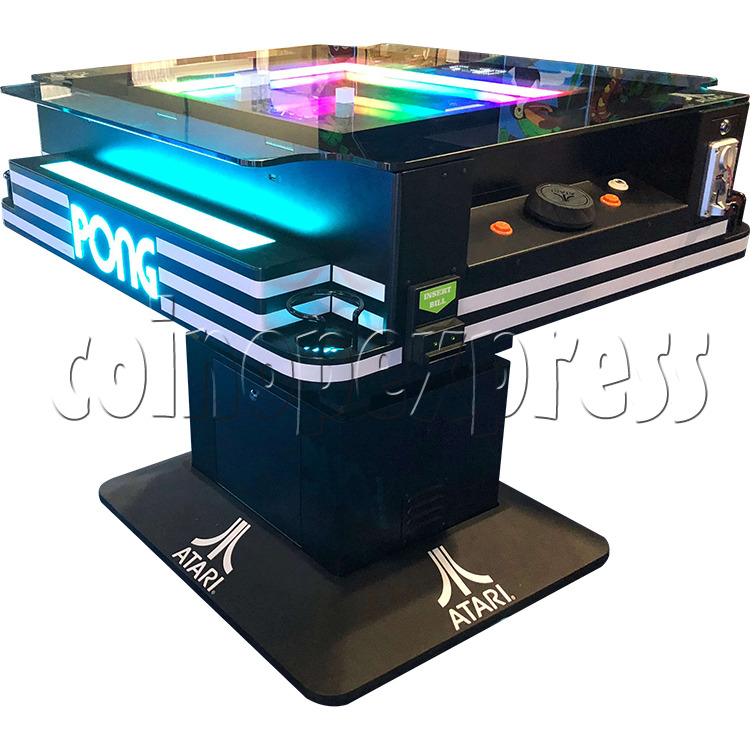 Atari PONG Cocktail Table Machine 2 Player - side view