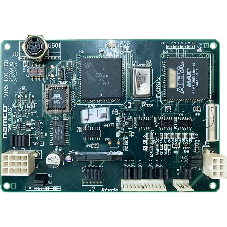 I/O Board for Time Crisis 3 - Part No. V185