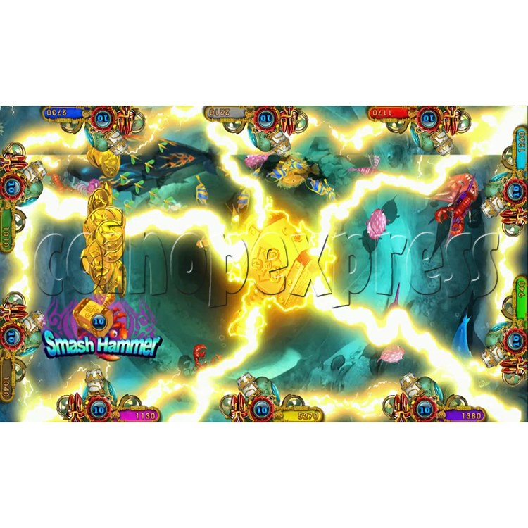 Ocean king 3 plus Master of The deep Fish Hunter Game board kit China release version - screen display 5