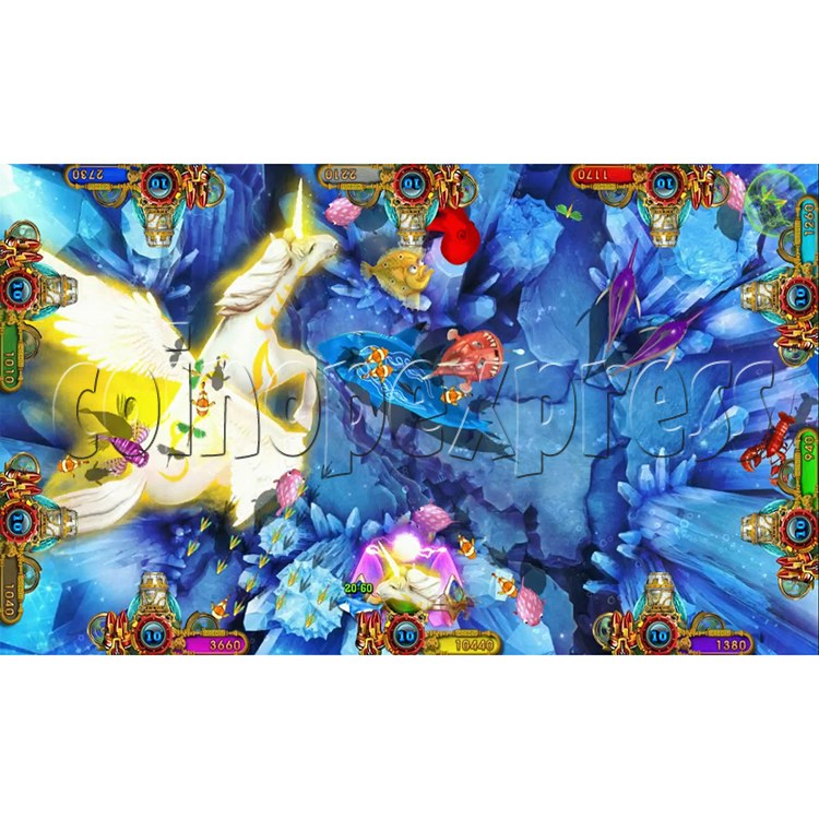 Ocean king 3 plus Master of The deep Fish Hunter Game board kit China release version - screen display 6