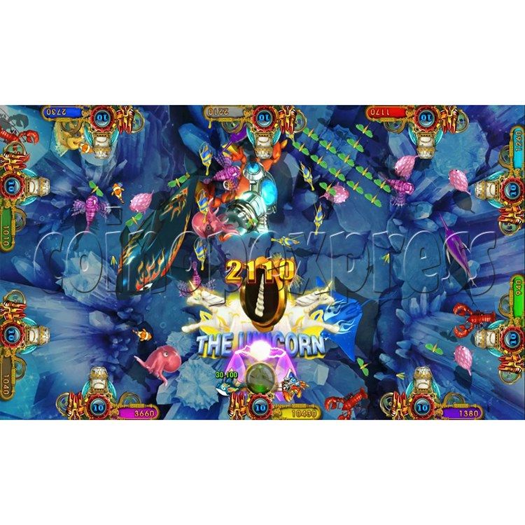 Ocean king 3 plus Master of The deep Fish Hunter Game board kit China release version - screen display 7