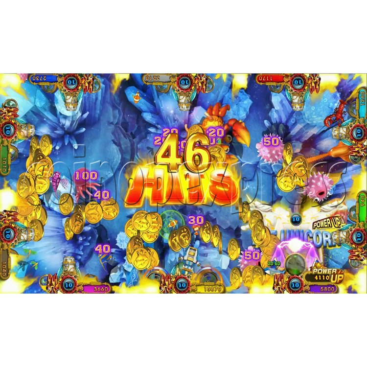 Ocean king 3 plus Master of The deep Fish Hunter Game board kit China release version - screen display 10