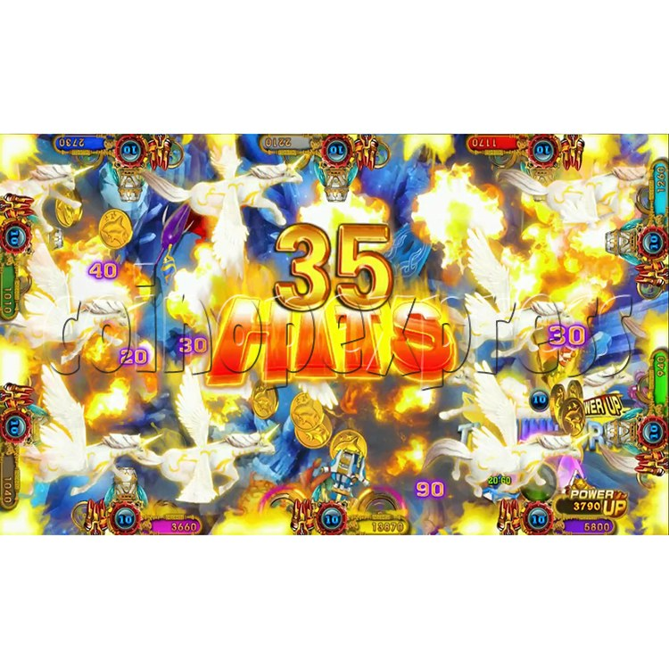 Ocean king 3 plus Master of The deep Fish Hunter Game board kit China release version - screen display 11