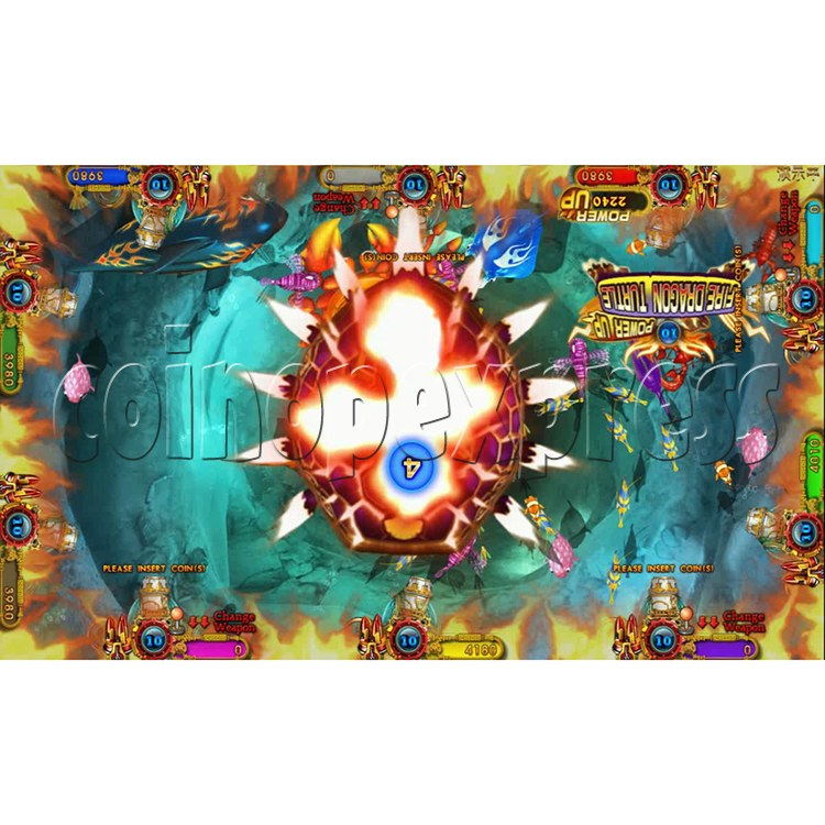 Ocean king 3 plus Dragon Lady of Treasures Fish Hunter Game board kit China release version - screen display 4