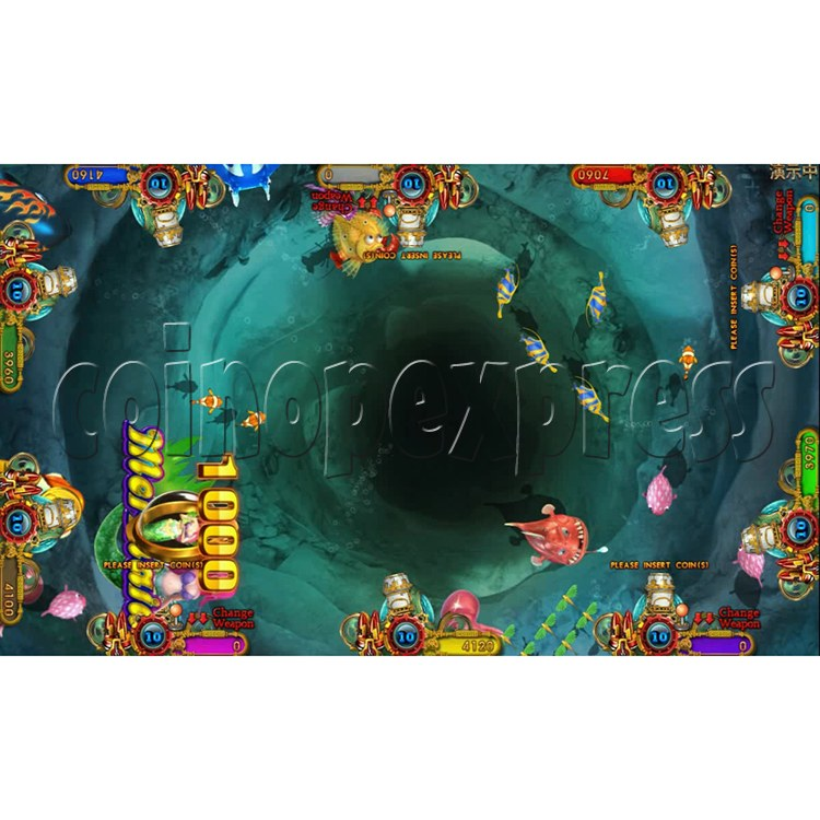 Ocean king 3 plus Dragon Lady of Treasures Fish Hunter Game board kit China release version - screen display 6