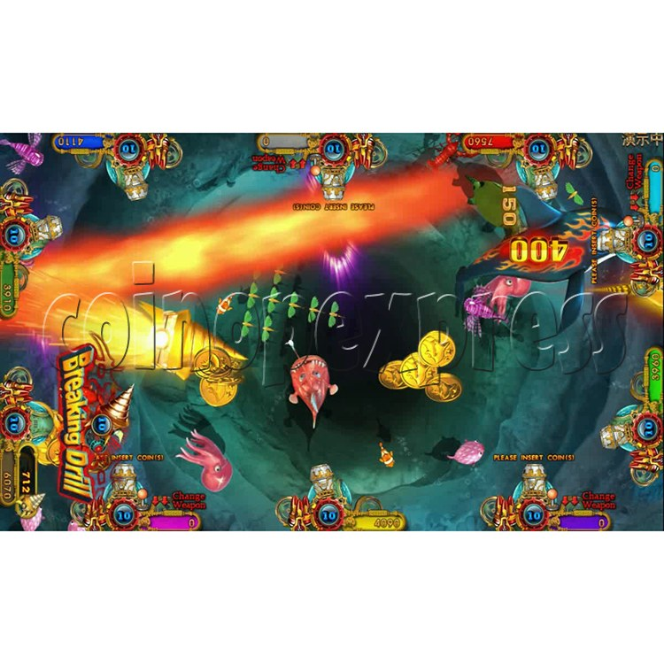 Ocean king 3 plus Dragon Lady of Treasures Fish Hunter Game board kit China release version - screen display 7