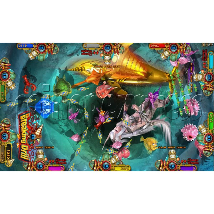 Ocean king 3 plus Dragon Lady of Treasures Fish Hunter Game board kit China release version - screen display 8