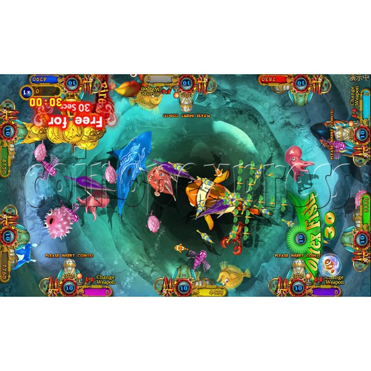 Ocean king 3 plus Dragon Lady of Treasures Fish Hunter Game board kit China release version - screen display 11