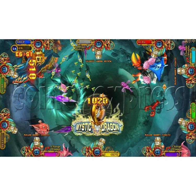 Ocean king 3 plus Dragon Lady of Treasures Fish Hunter Game board kit China release version - screen display 12
