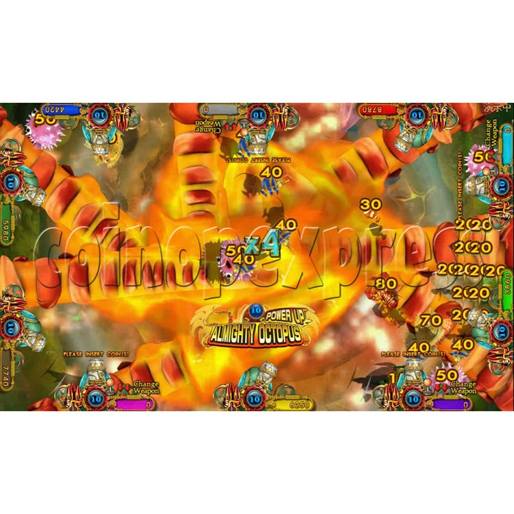 Ocean king 3 plus Dragon Lady of Treasures Fish Hunter Game board kit China release version - screen display 15