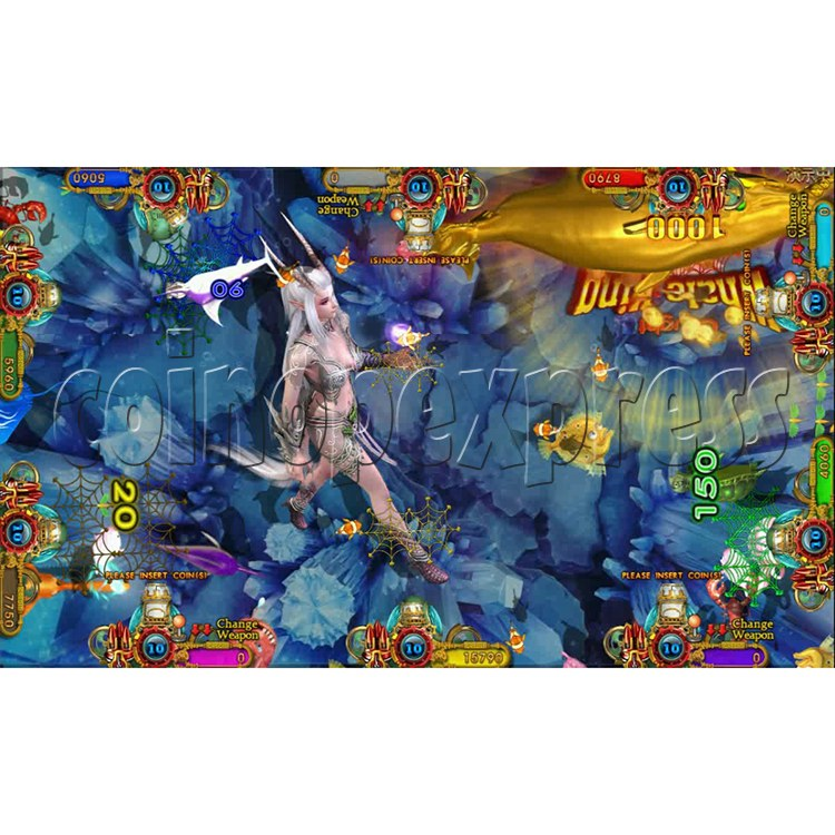 Ocean king 3 plus Dragon Lady of Treasures Fish Hunter Game board kit China release version - screen display 17