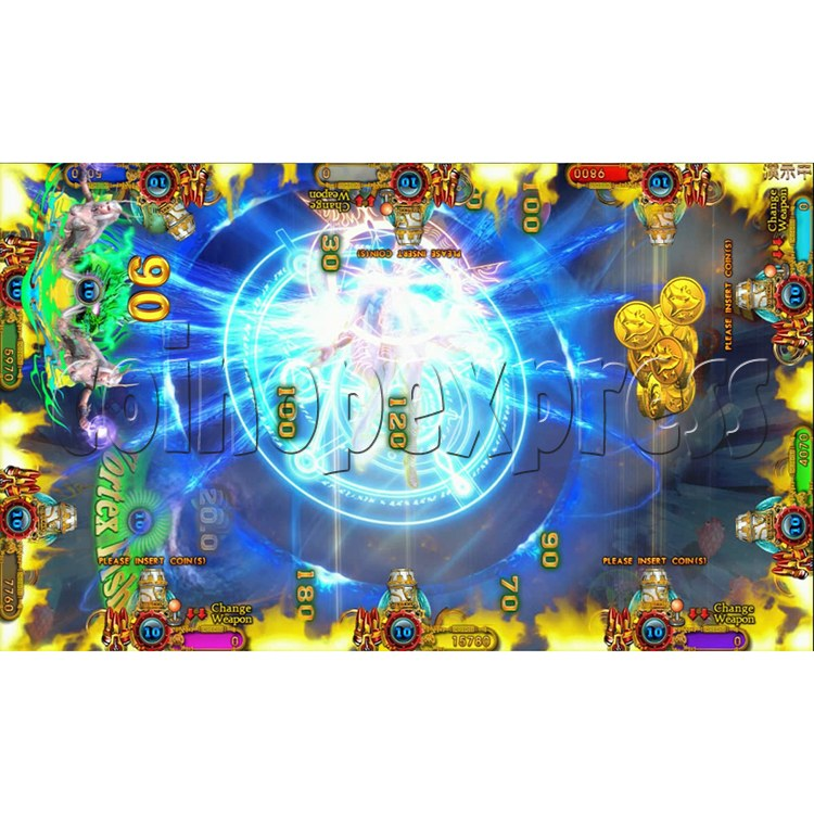 Ocean king 3 plus Dragon Lady of Treasures Fish Hunter Game board kit China release version - screen display 18