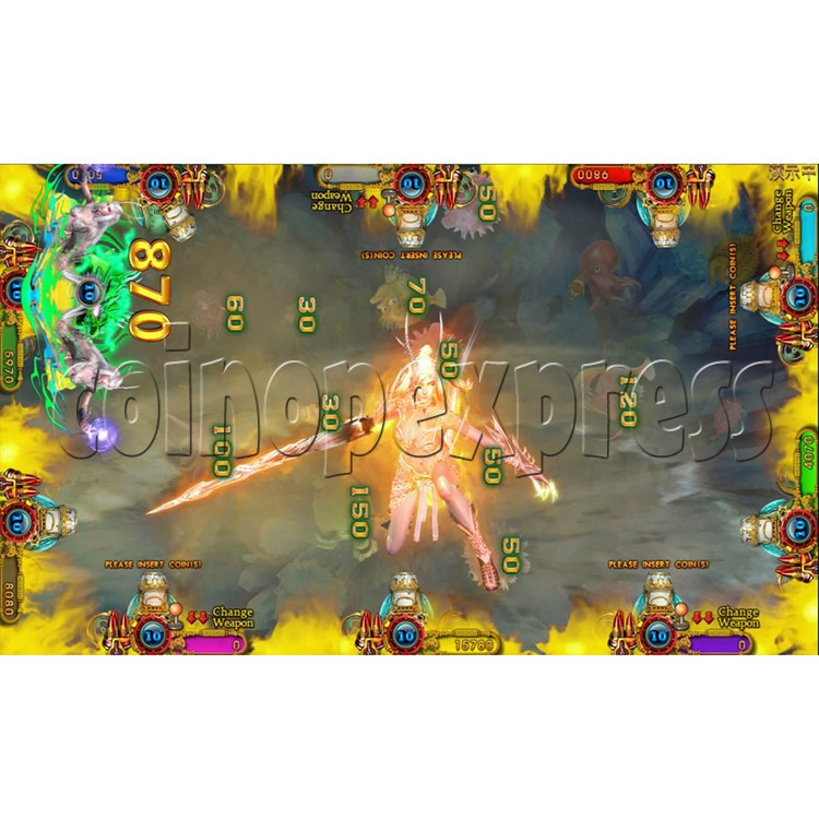 Ocean king 3 plus Dragon Lady of Treasures Fish Hunter Game board kit China release version - screen display 19