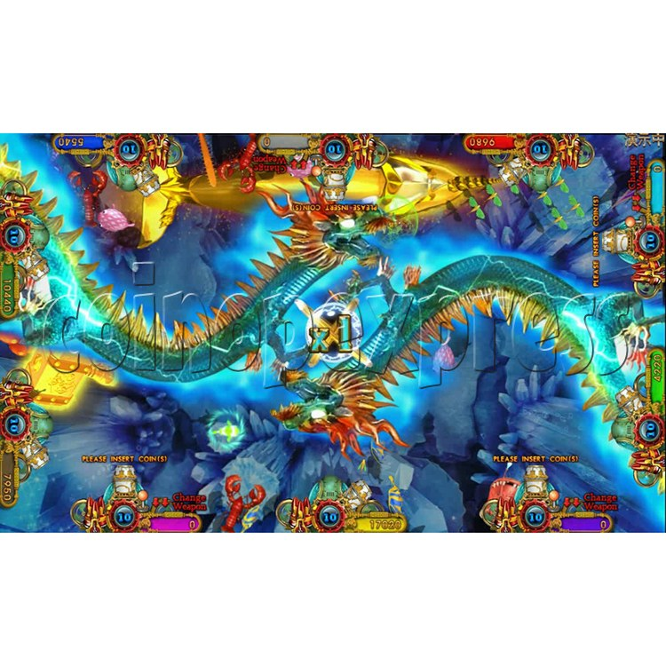 Ocean king 3 plus Dragon Lady of Treasures Fish Hunter Game board kit China release version - screen display 21
