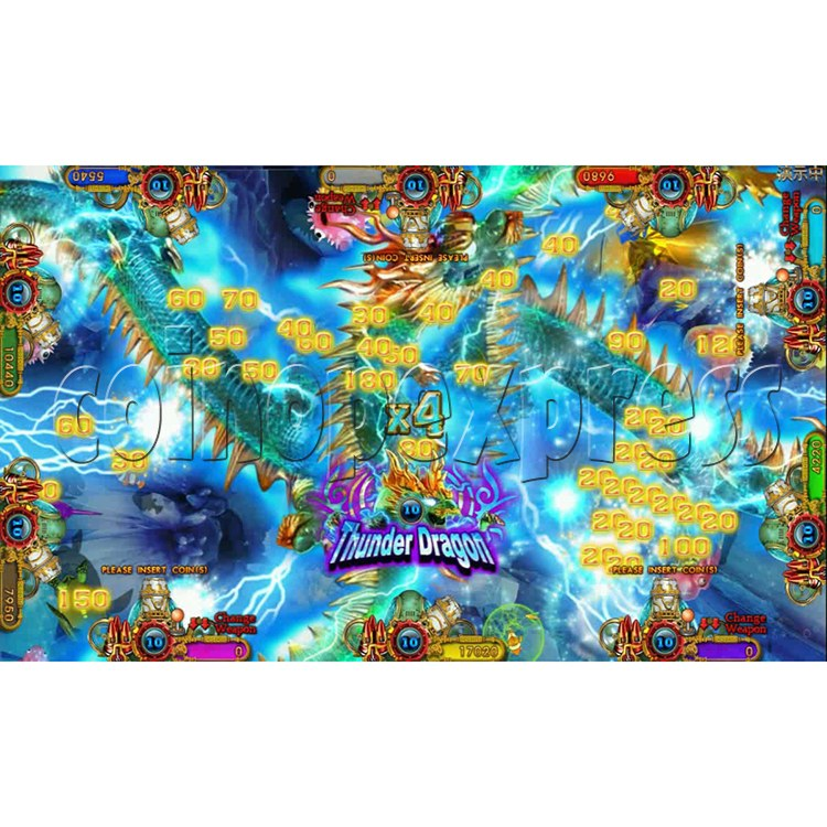 Ocean king 3 plus Dragon Lady of Treasures Fish Hunter Game board kit China release version - screen display 22