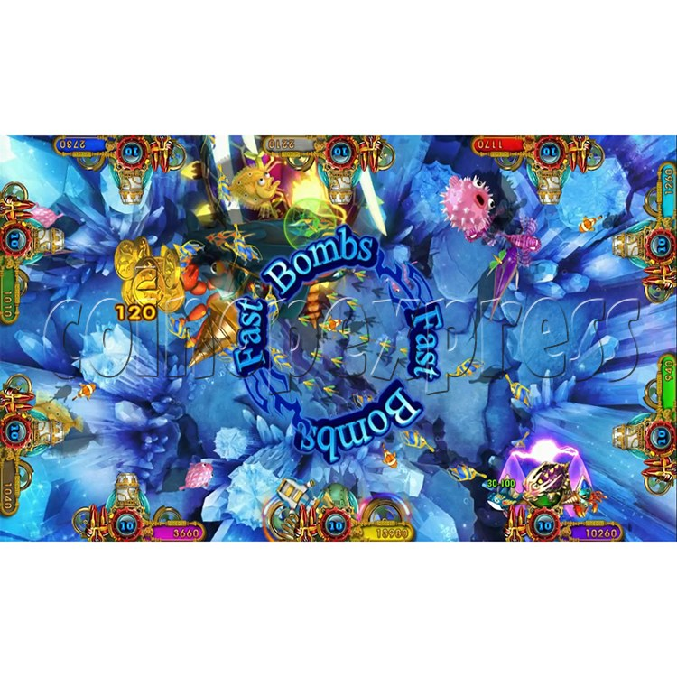 Ocean king 3 plus Aquaman Realm Fish Game Board Kit China Release Version - screen display 1