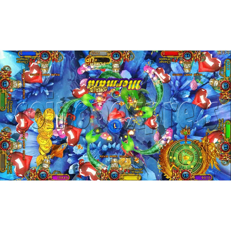 Ocean king 3 plus Aquaman Realm Fish Game Board Kit China Release Version - screen display 3