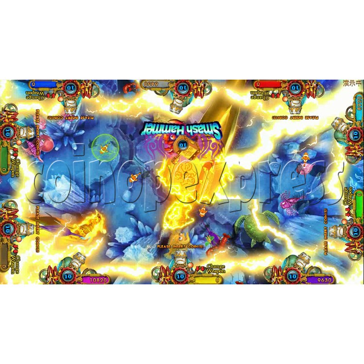 Ocean king 3 plus Aquaman Realm Fish Game Board Kit China Release Version - screen display 5