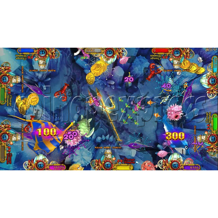 Ocean king 3 plus Aquaman Realm Fish Game Board Kit China Release Version - screen display 7
