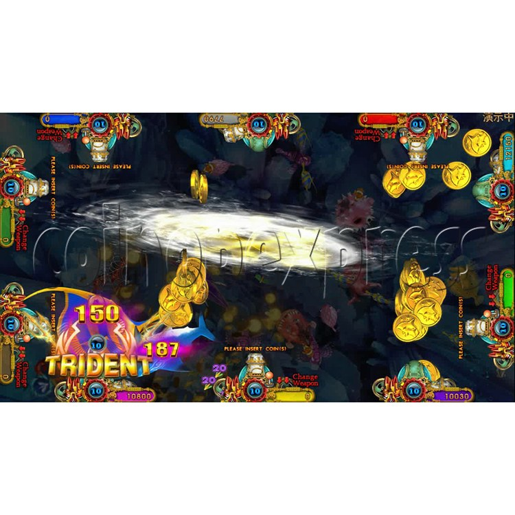 Ocean king 3 plus Aquaman Realm Fish Game Board Kit China Release Version - screen display 8