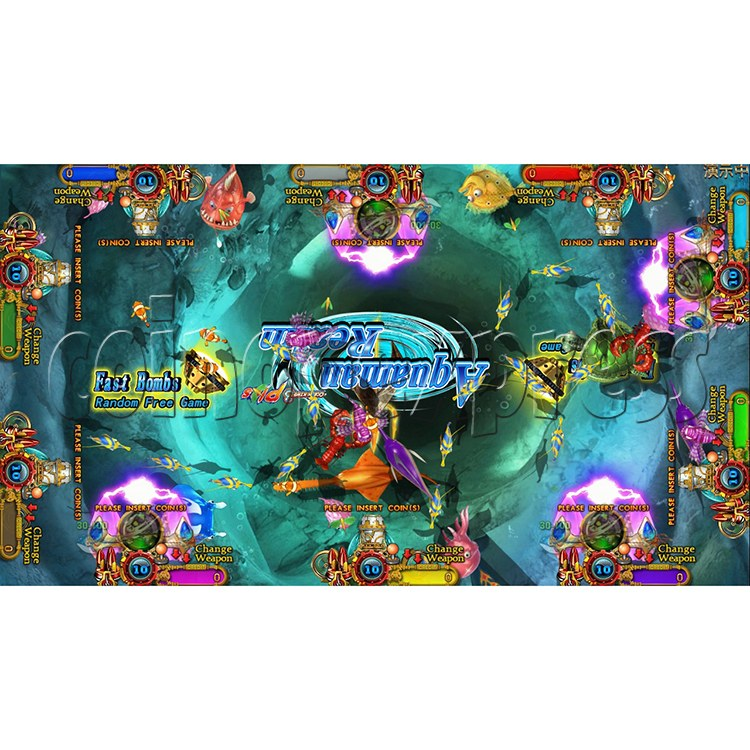 Ocean king 3 plus Aquaman Realm Fish Game Board Kit China Release Version - screen display 16