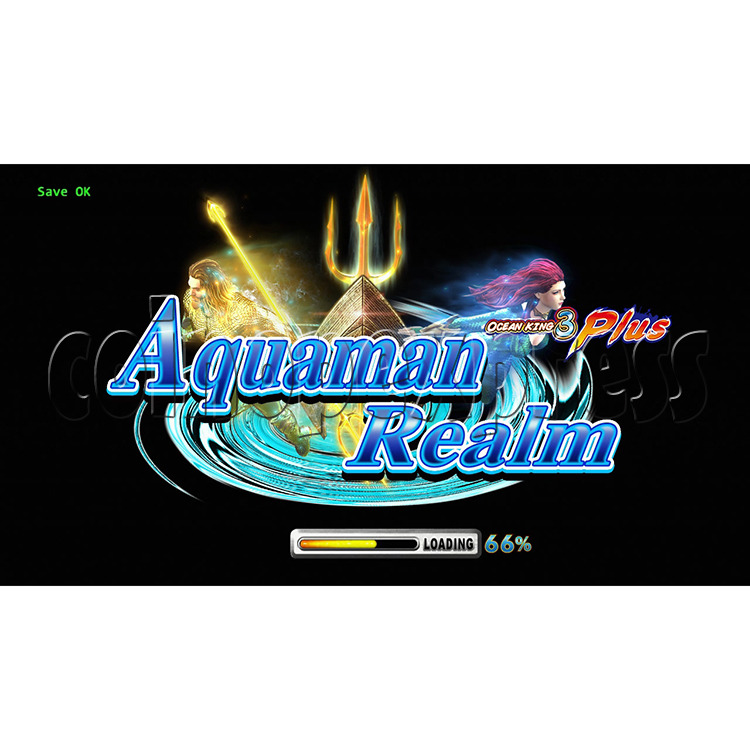 Ocean king 3 plus Aquaman Realm Fish Game Board Kit China Release Version - gameboot