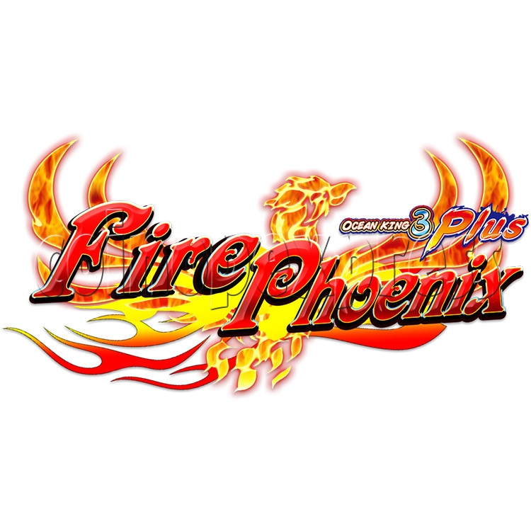 Ocean king 3 plus Fire Phoenix Fish Game Board Kit China Release Version - game logo