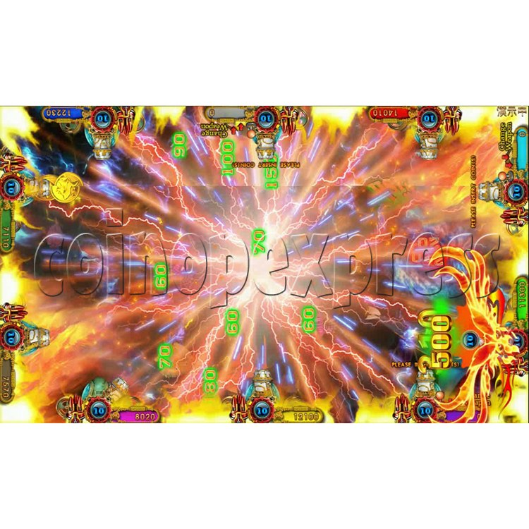 Ocean king 3 plus Fire Phoenix Fish Game Board Kit China Release Version - screen display 6