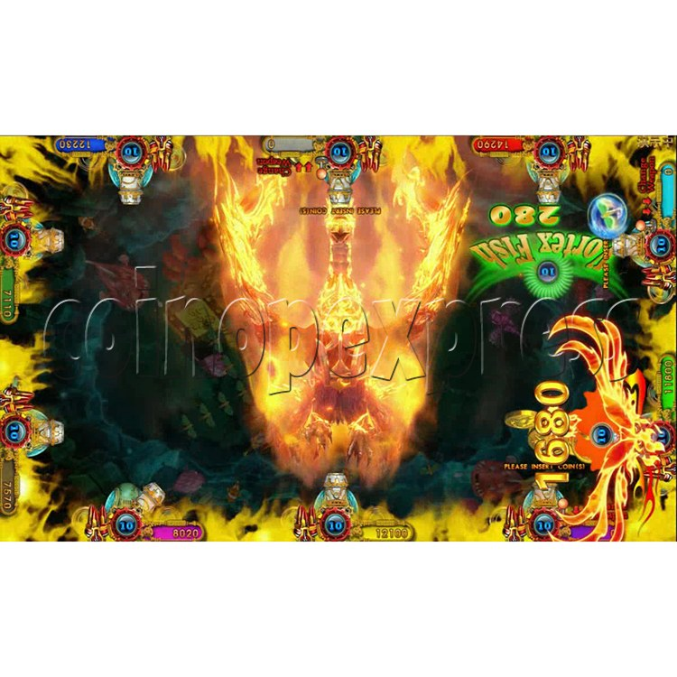 Ocean king 3 plus Fire Phoenix Fish Game Board Kit China Release Version - screen display 7