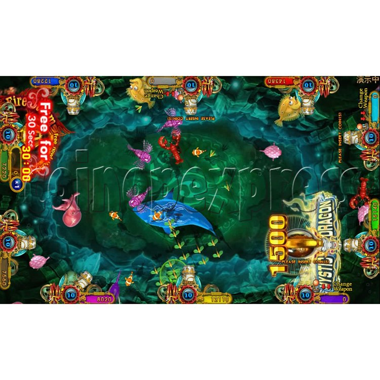 Ocean king 3 plus Fire Phoenix Fish Game Board Kit China Release Version - screen display 10