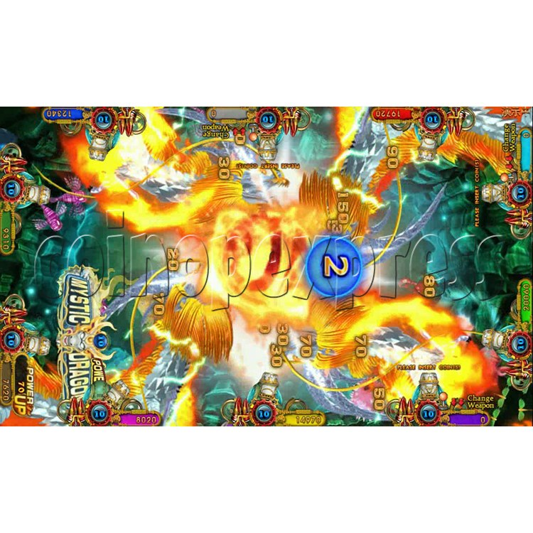 Ocean king 3 plus Fire Phoenix Fish Game Board Kit China Release Version - screen display 15