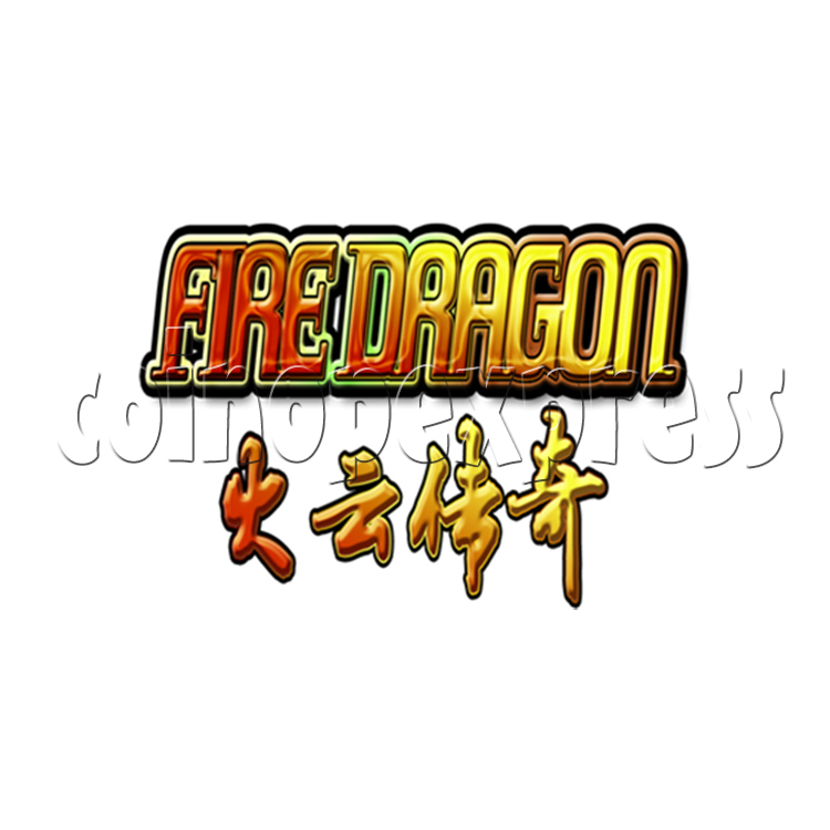 Fire Dragon Fish Game Full Game Board Kit - game logo