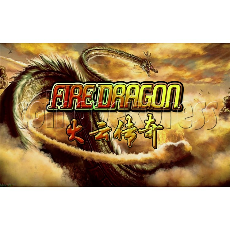 Fire Dragon Fish Game Full Game Board Kit - screen display 1
