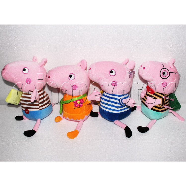 Peggy Pig Plush Toy 8 inch - angle view 1