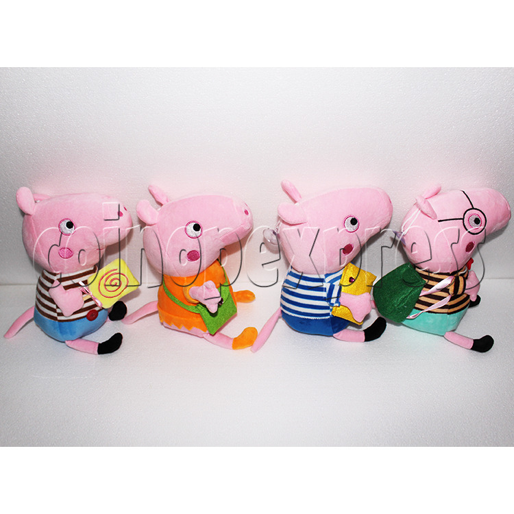 Peggy Pig Plush Toy 8 inch - side view 1