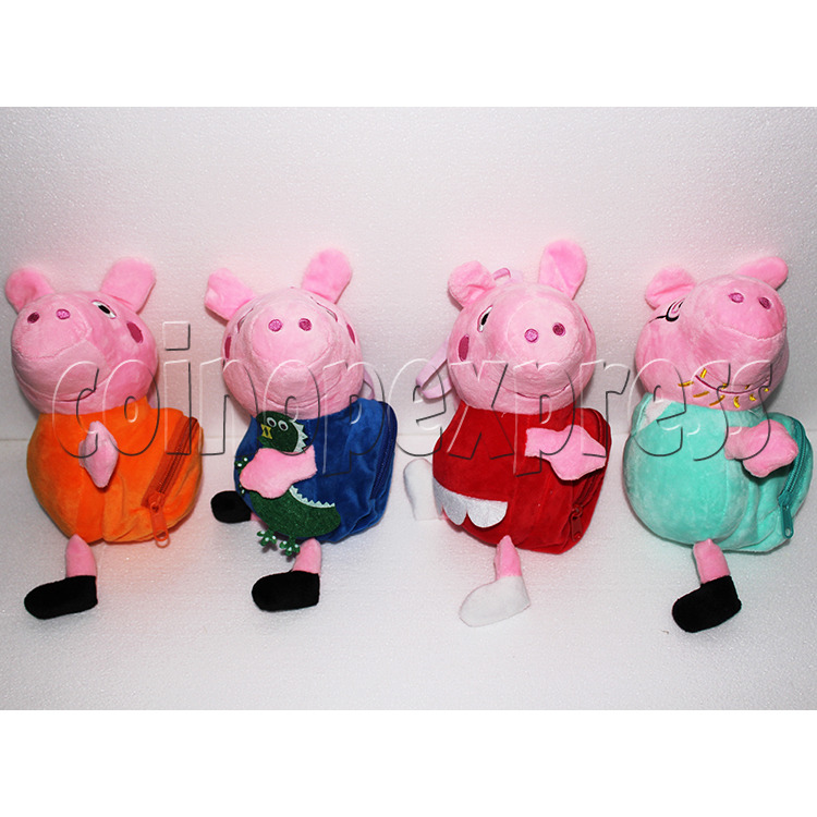 Peggy Pig Plush Toy 8 inch - angle view 2