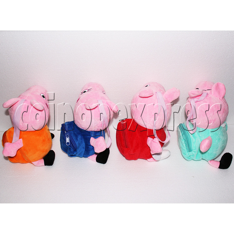 Peggy Pig Plush Toy 8 inch - side view 2