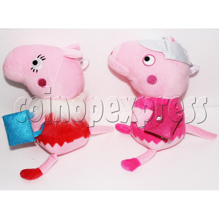 Peggy Pig Plush Toy 8 inch - angle view 3