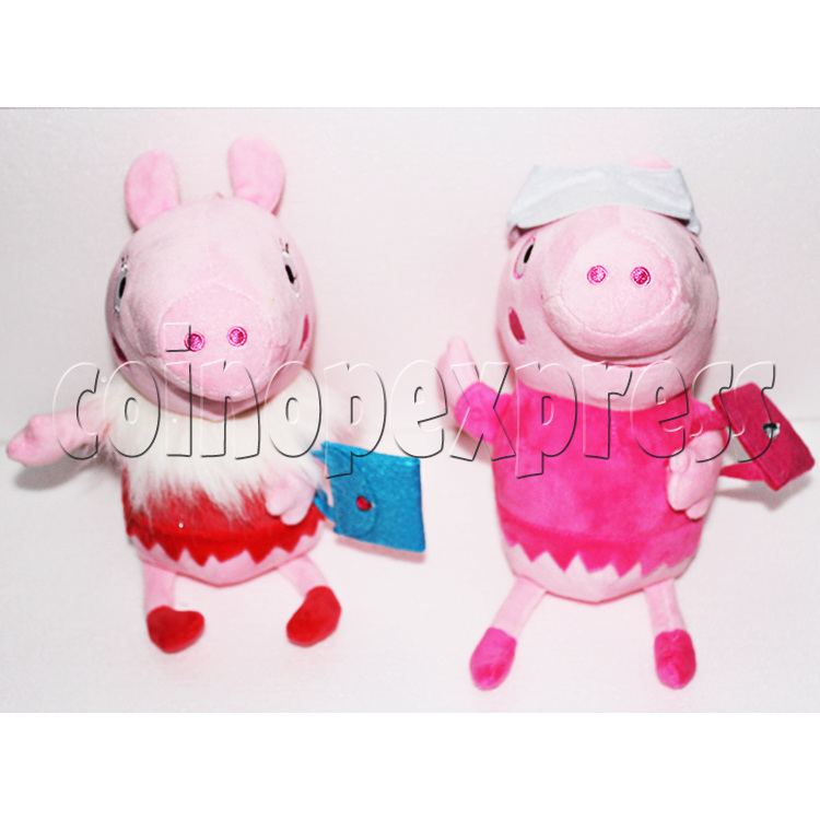 Peggy Pig Plush Toy 8 inch - front view 3