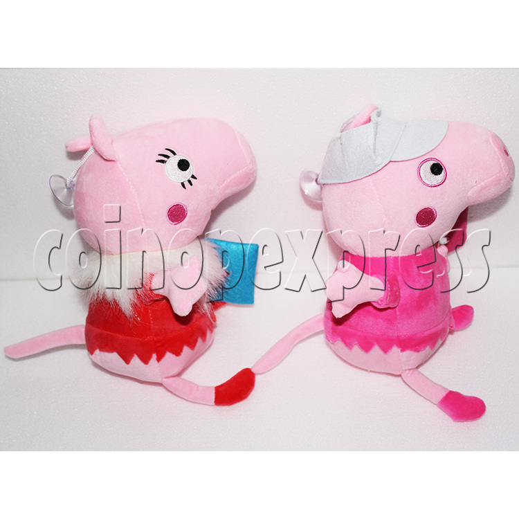 Peggy Pig Plush Toy 8 inch - side view 3