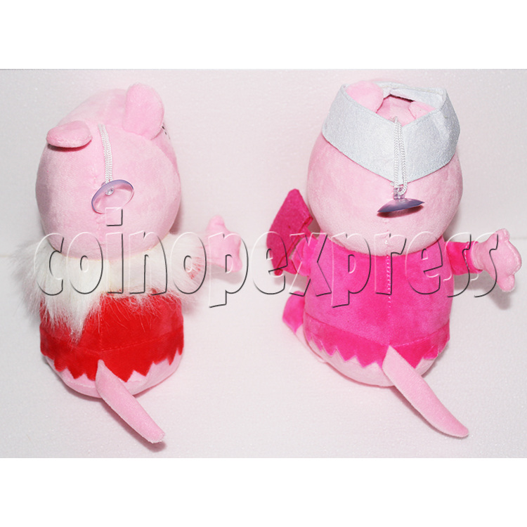 Peggy Pig Plush Toy 8 inch - back view 3