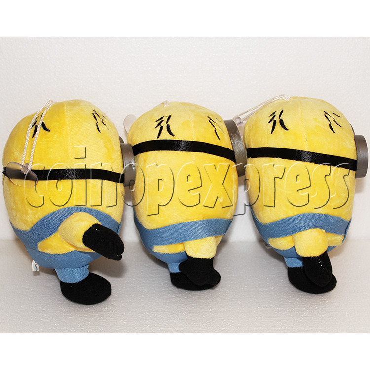 Yellow Henchman Plush Toy 8 inch - side view