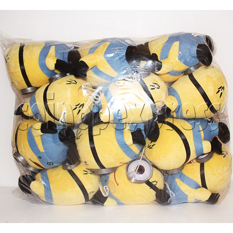 Yellow Henchman Plush Toy 8 inch - package