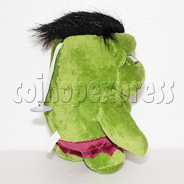 Green Giant Plush Toy 8 inch - side view