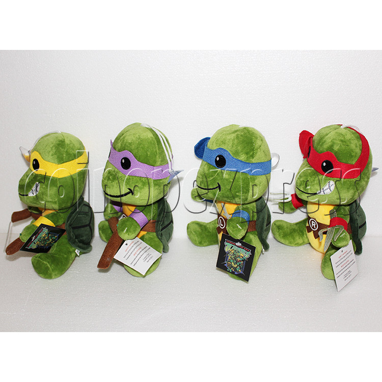 Super Tortoise Plush Toy 8 inch - angle view